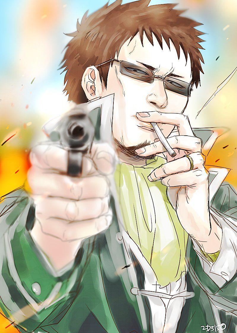 Madao hasegawa gintama Hot anime guys, Anime