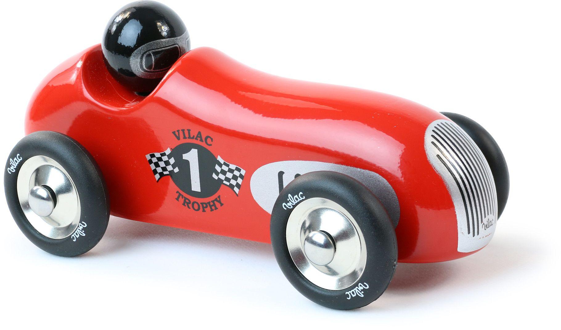voiture en bois old sport bleue drapeau anglais vilac jouets bois wood toys jouets en bois. Black Bedroom Furniture Sets. Home Design Ideas
