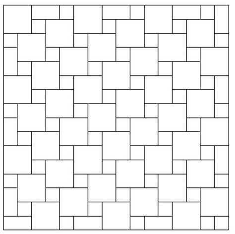 For Our Bathroom Floor With The Small Square Tiles I M Making Surrounded By Large White Square Ti Bathroom Floor Tile Patterns Patterned Floor Tiles Tile Floor