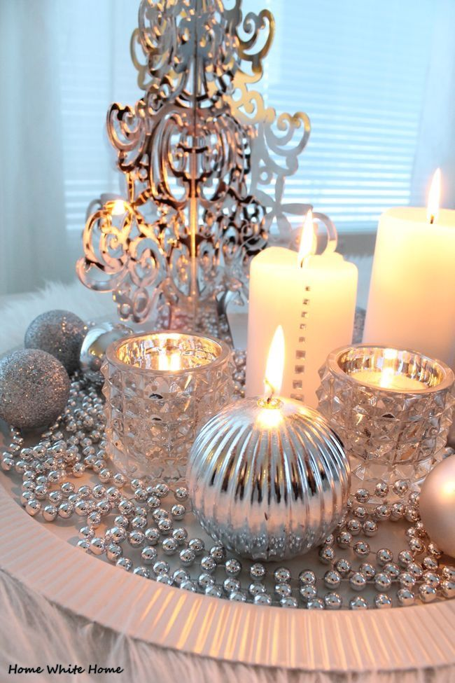 Pin von Carolyn Malin auf Christmas In Silver and Gold | Pinterest ...