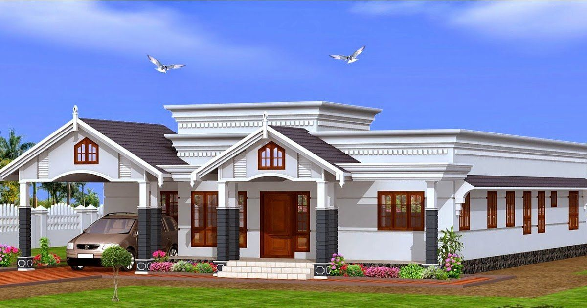 1 Floor House Plans Lovely Single Floor House Plans Kerala 2015 House Design In 2020 Duplex House Design Small House Elevation Beautiful Small Homes