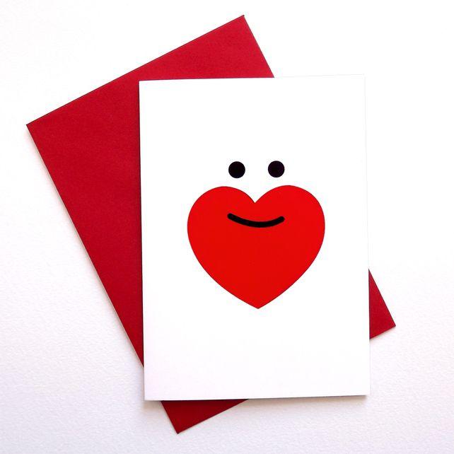 Valentines Love Beard Card by Hello DODO valentine  The Best