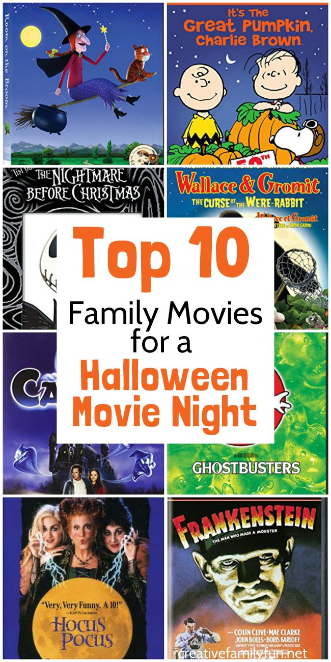 top 10 family halloween movies | creative family fun {from the blog