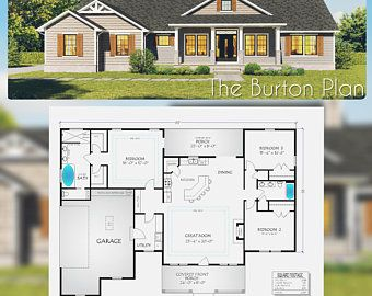 5 Bedroom House Floor Plan Instant Download Luxury Floor Etsy In 2021 House Plans Container House Plans Cottage House Plans