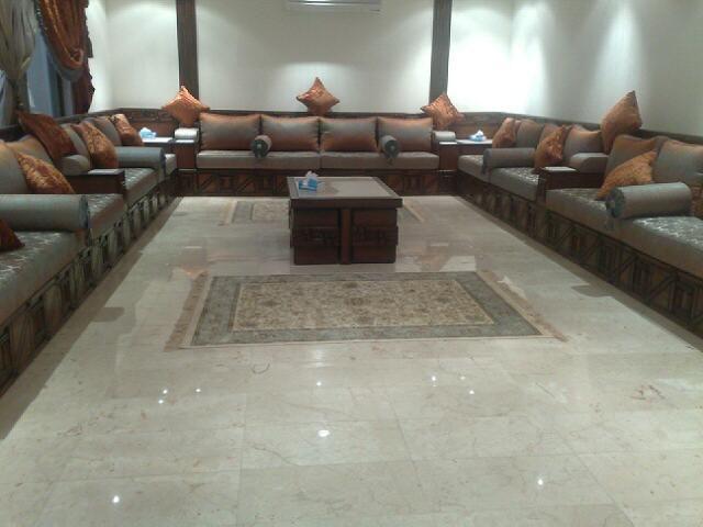 تصميم مجالس كنب متصل بسيطة وواسعة Home Sectional Couch Furniture