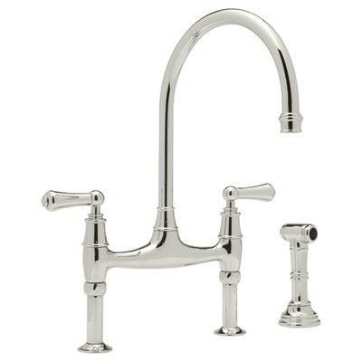 Charmant Gooseneck Bridge Kitchen Faucet