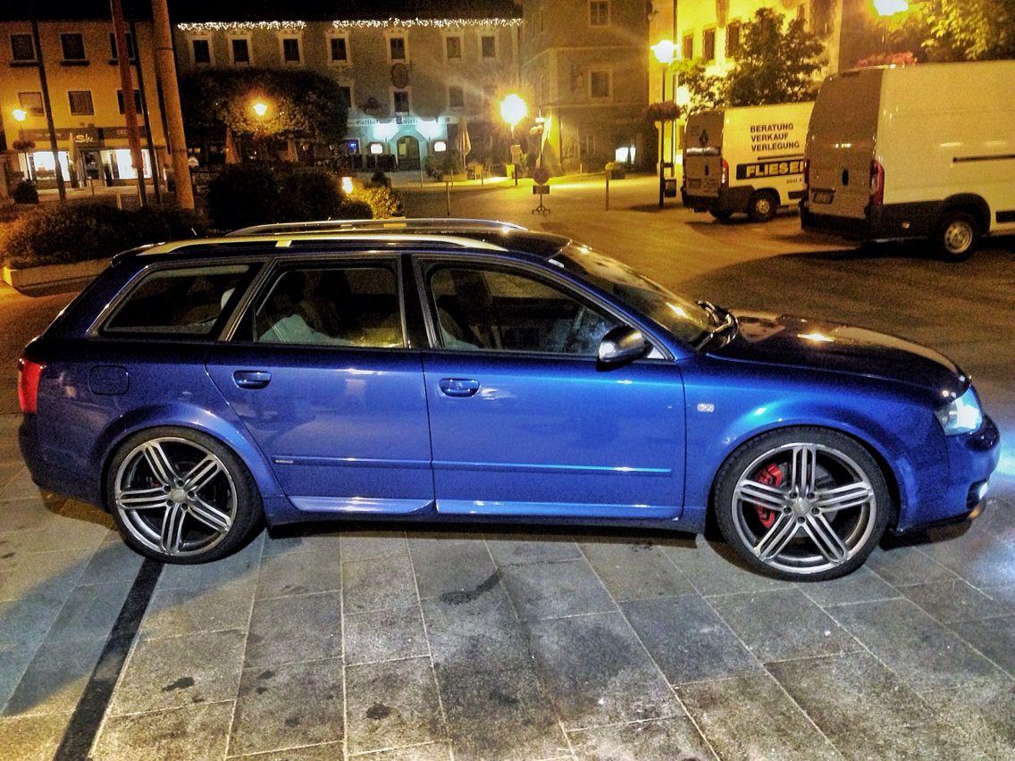 Audi A4 B6 Quattro Sprint Blue Mit 20 Zoll Audi Segment Felgen 255 30 R 20 Audi A4 Audi Wagons