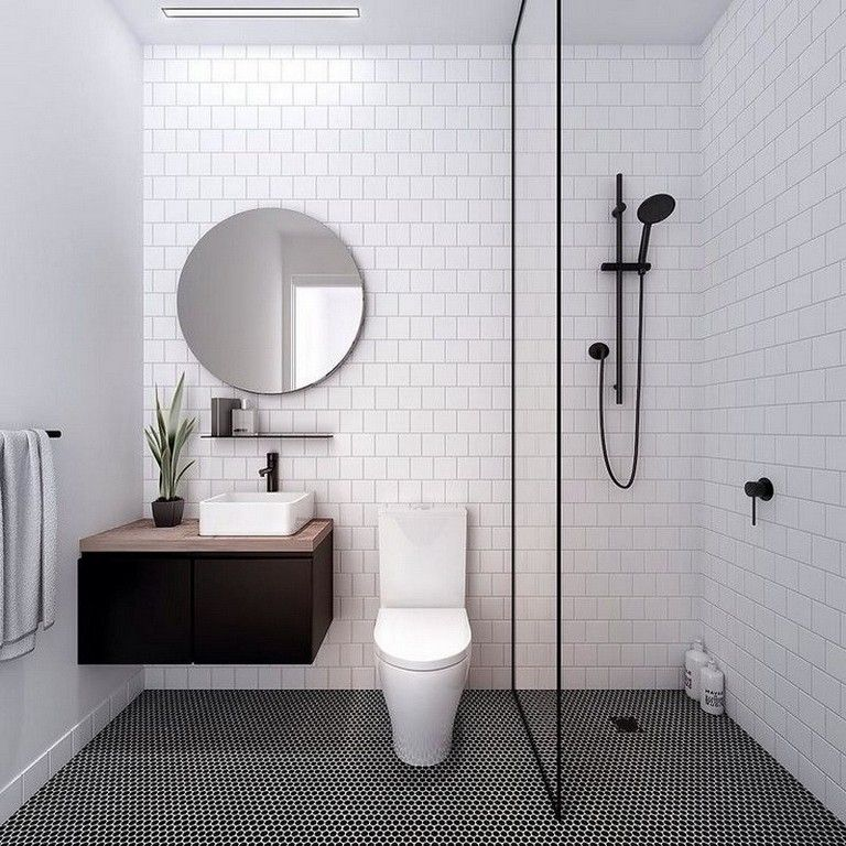 8 Gorgeous Design Ideas For Small House Minimalist Bathroom