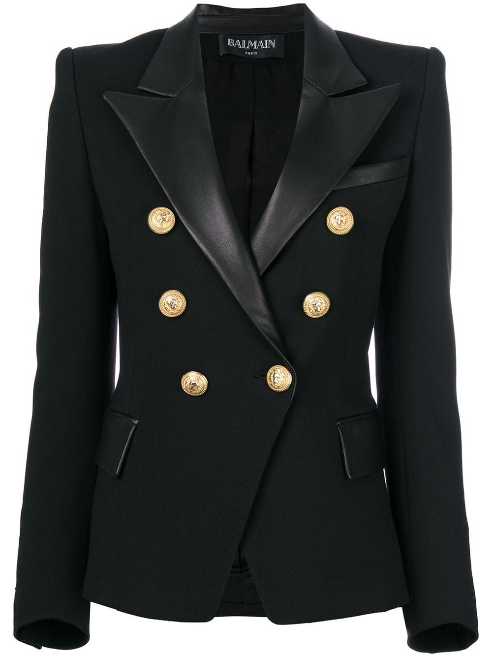 93b6408c BALMAIN Blazer. Coveting to wear with ripped jeans :). | Hats and Suits in  2019 | Balmain blazer, Balmain jacket, Fashion