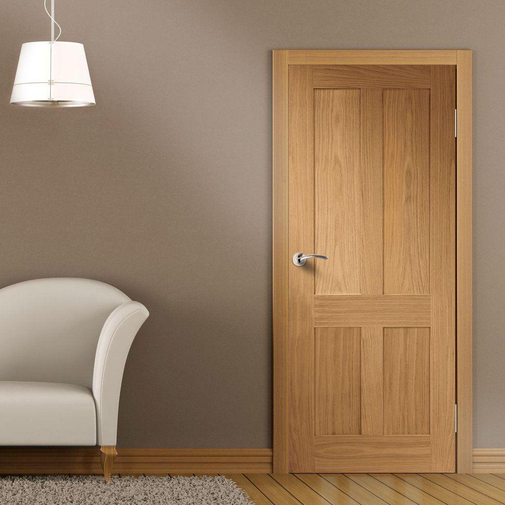 Bespoke Victorian Oak Shaker Fire Door 1 2 Hour Fire Rated Bathroom Doors Fire Doors Shaker Doors