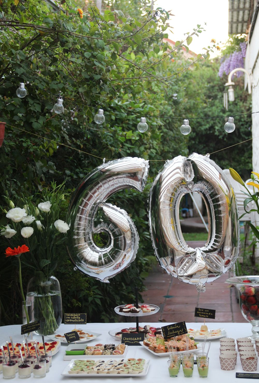 Ideas Para Un Cumpleaños 60 Primaveral Decoracion