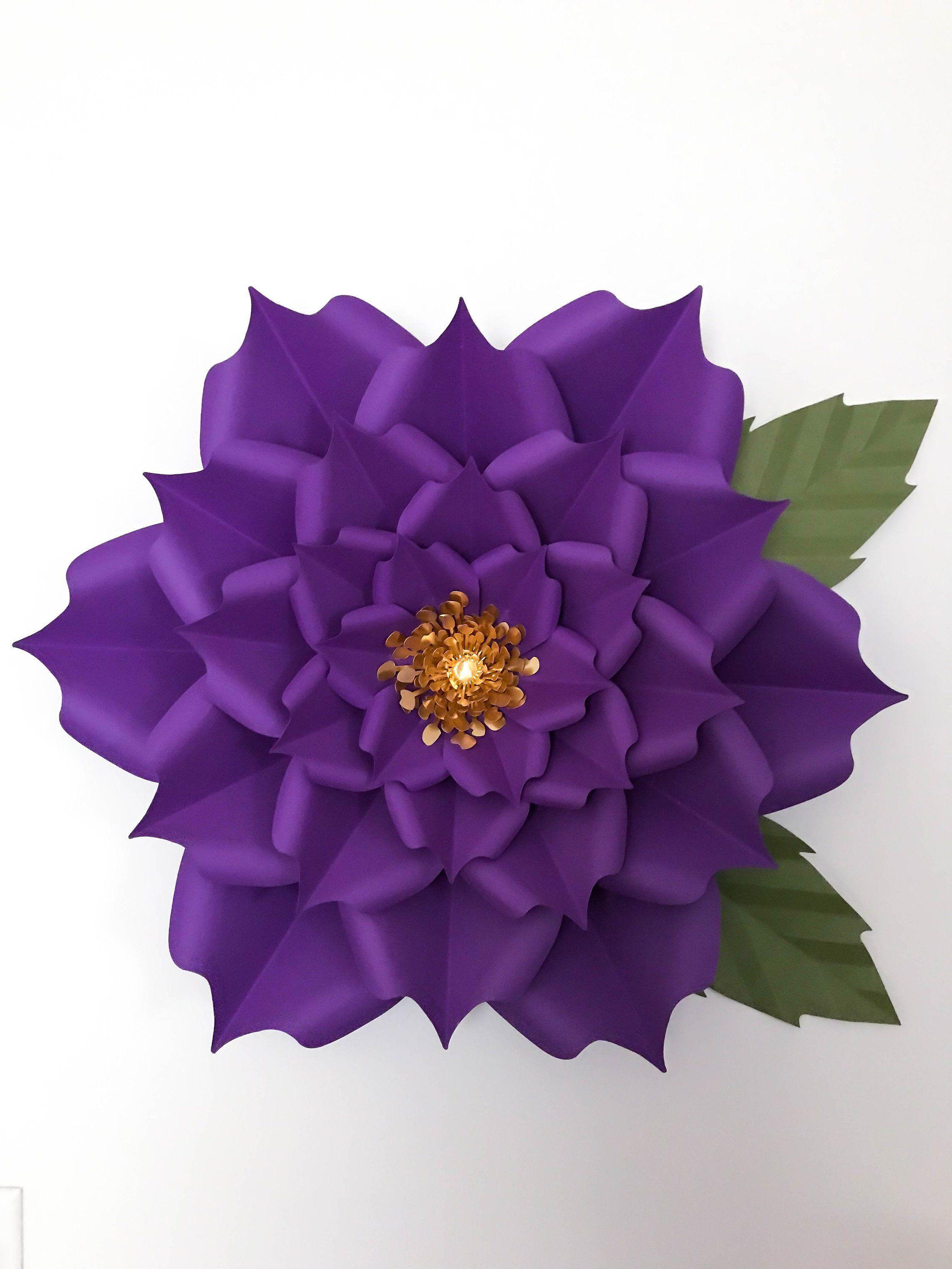 Pin On How To Make Paper Flowers