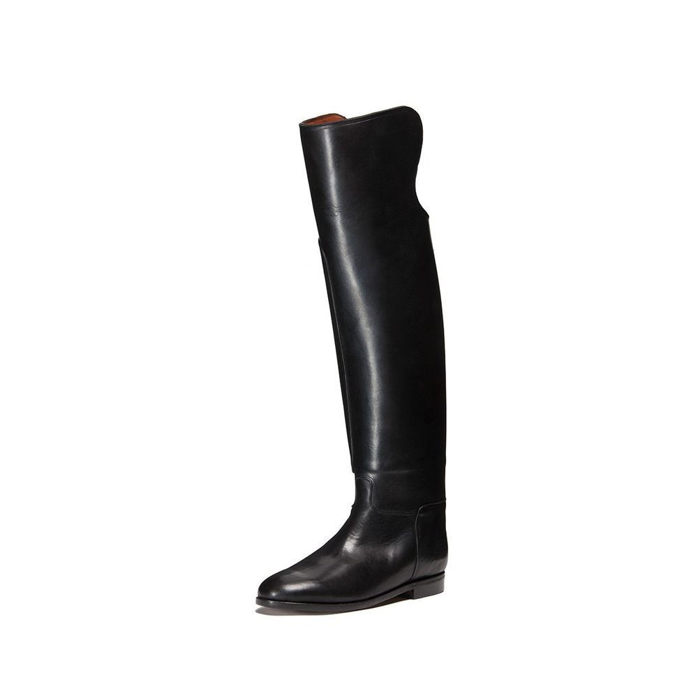 Unique tall black boots for men by jean gaborit Boots for