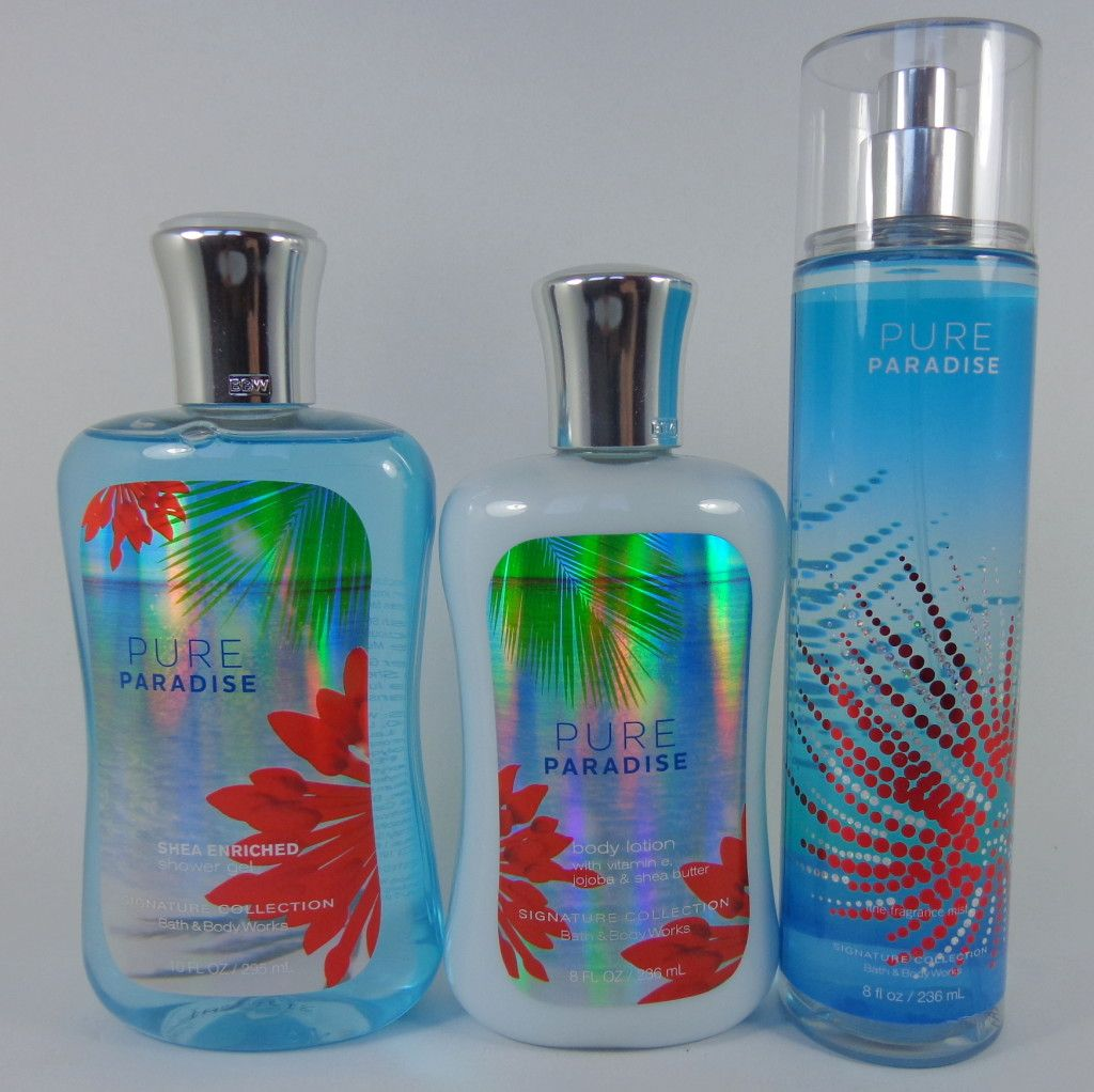 Bath and body works holiday scents - Bath And Body Works Pure Paradise Review Via Myhighestselfblog Com