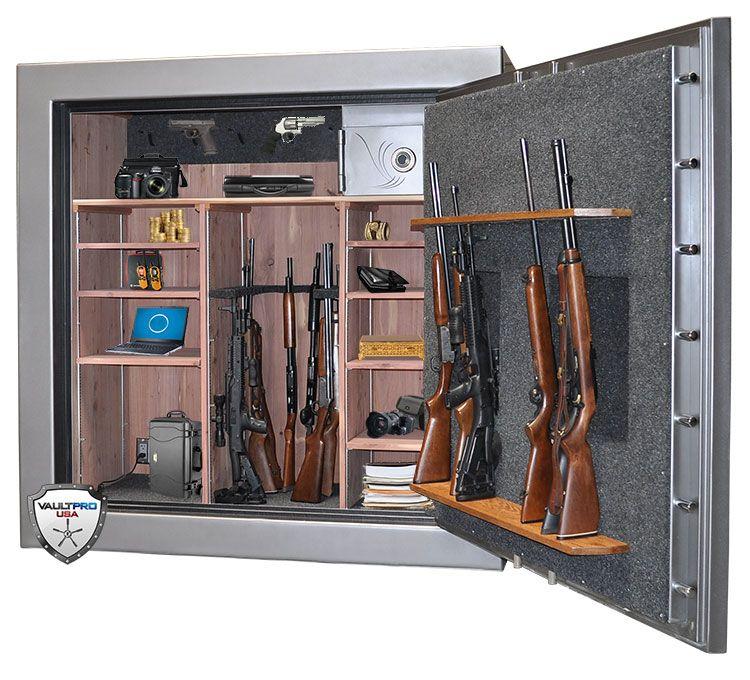 Custom Monster Gun Safe with solid cedar interior   Custom ...