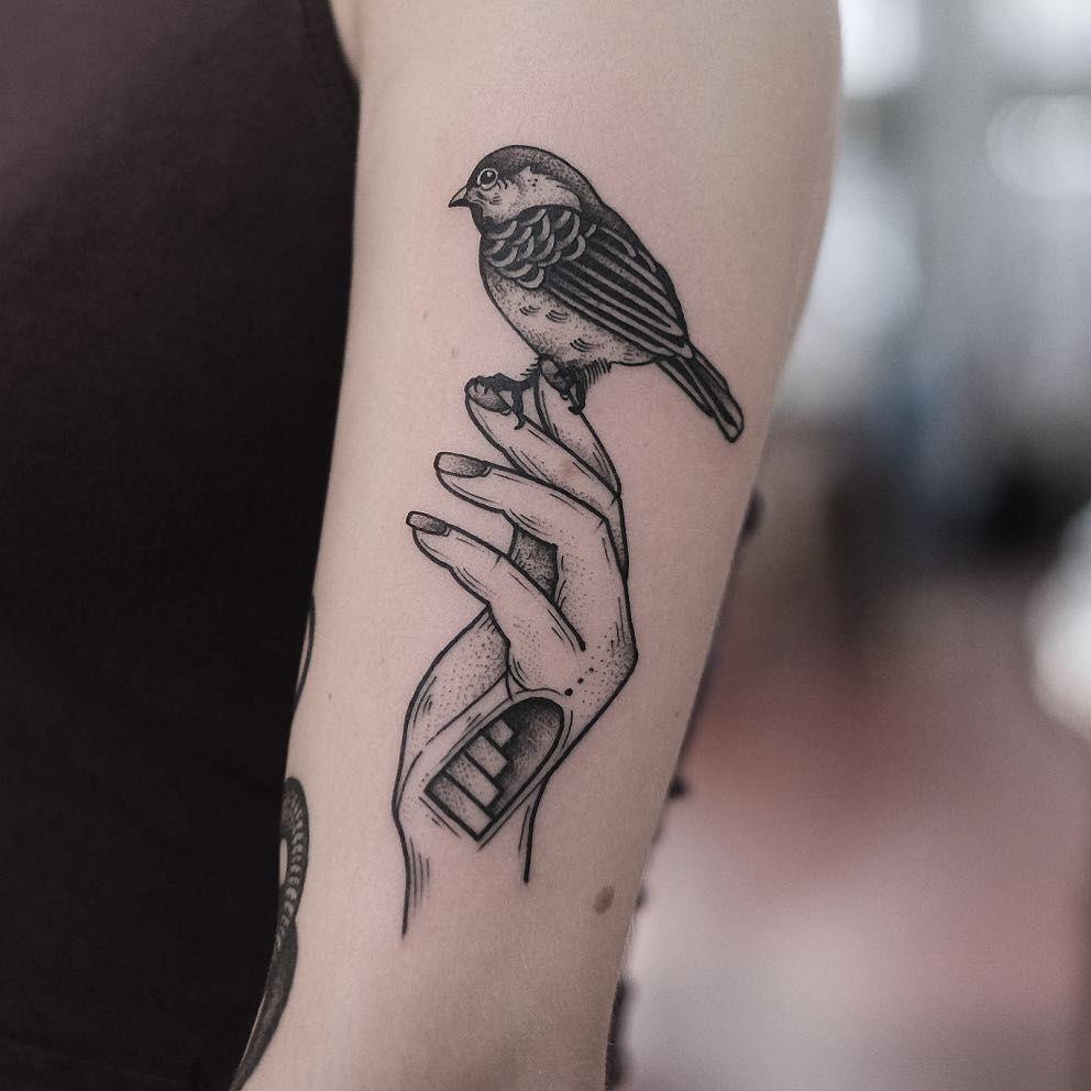 998 Curtidas 6 Comentarios Jonas Ribeiro Jonastattooer No Instagram Thanks Sophie Blackworkers Txttooin Hand Tattoos Small Bird Tattoo Neck Tattoo