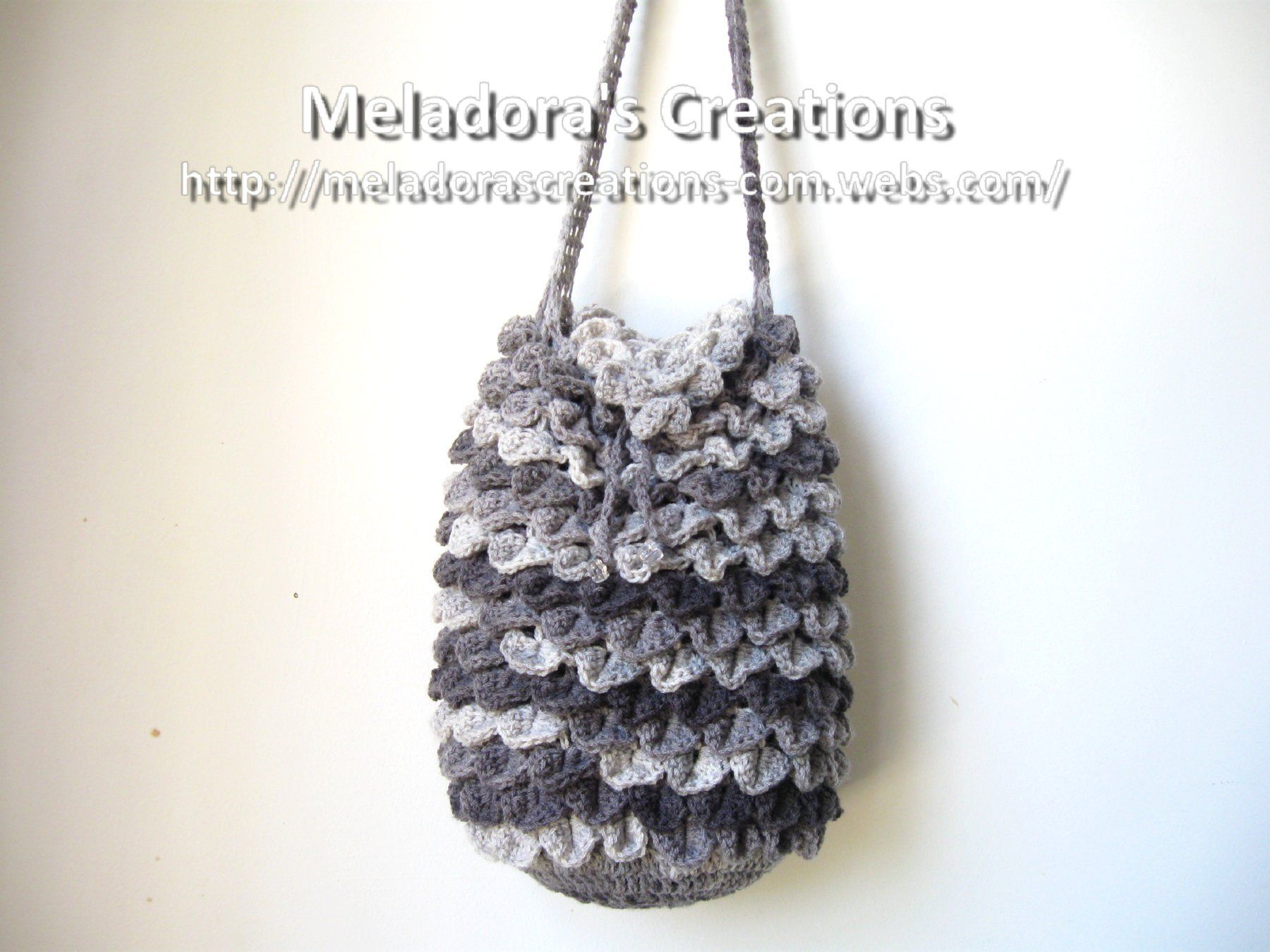 Crocodile Stitch Draw Bag – Free Crochet Pattern | Crocheting ...