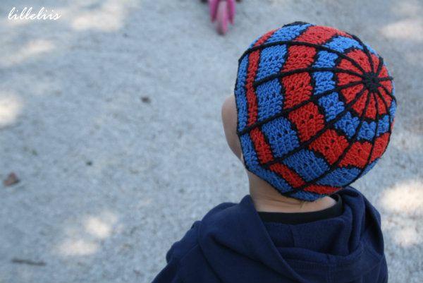 Crochet Spider-Man Hat | crochet | Pinterest