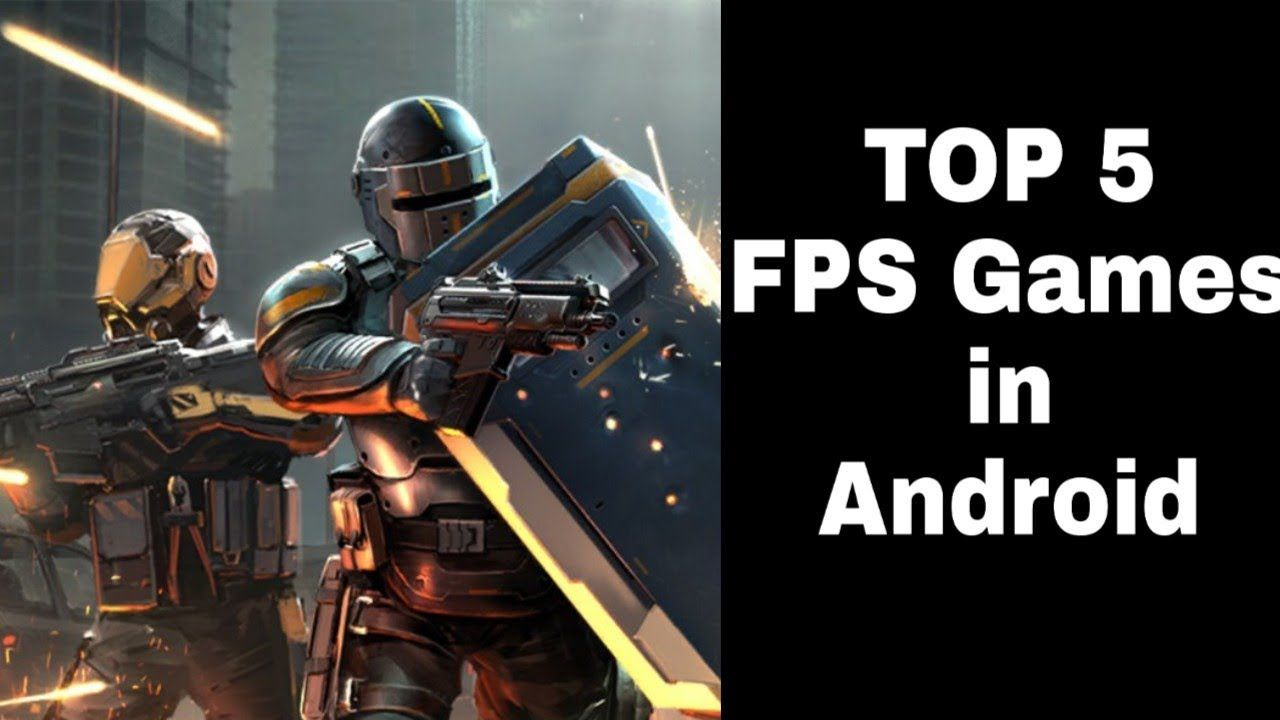 Top 5 Fps Games In Android With Images Fps Games Fps