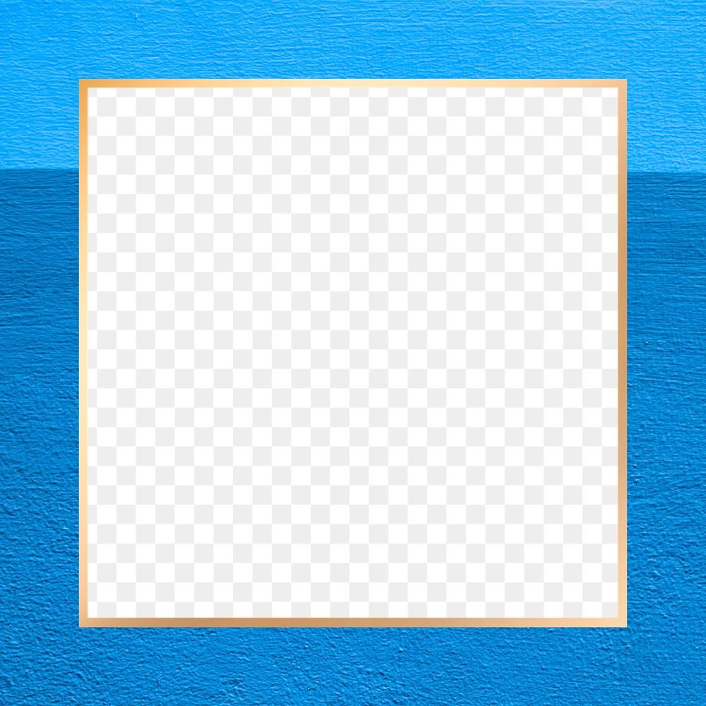Blue Border Frame Png Transparent Free Image By Rawpixel Com Paeng Blue Backgrounds Theme Background Frame
