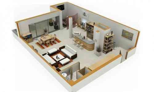 Le plan appartement du0027un studio - 50 idées originales Studio and Room