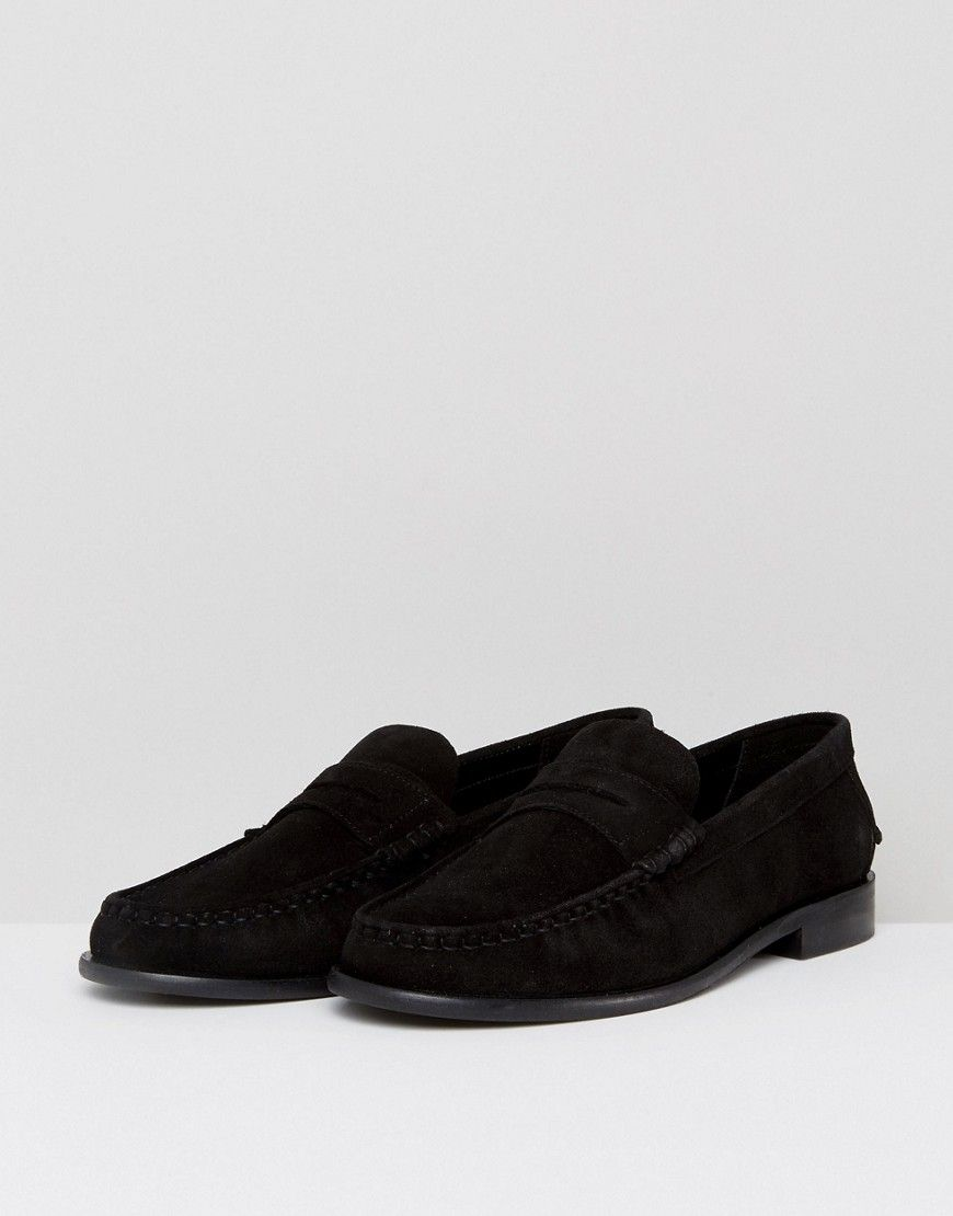 Dead Vintage Penny Loafers In Suede rQiVNgFT