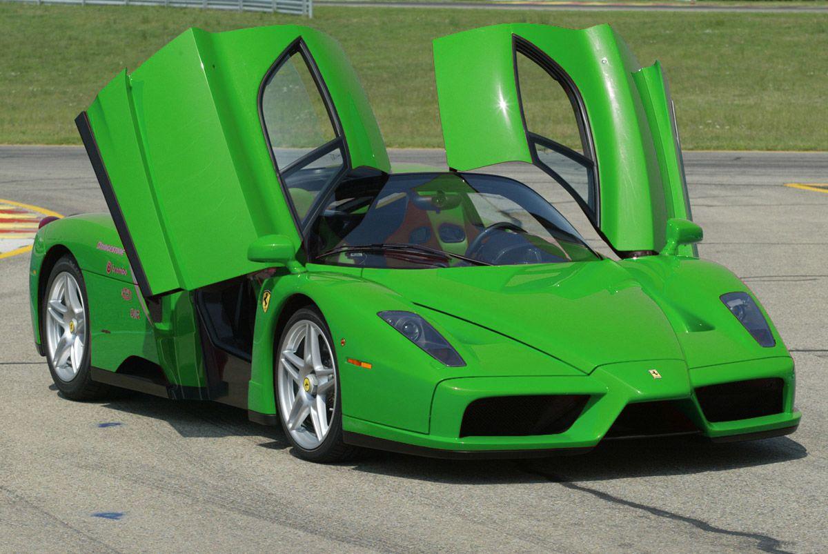 Green Ferrari Car Pictures Images Super Cool Green Ferrari Ferrari Enzo Ferrari Car Super Cars
