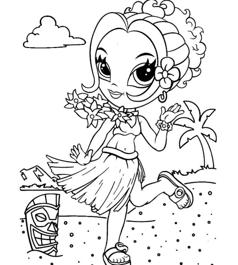 Cute lisa frank coloring pages printable Kids Colouring