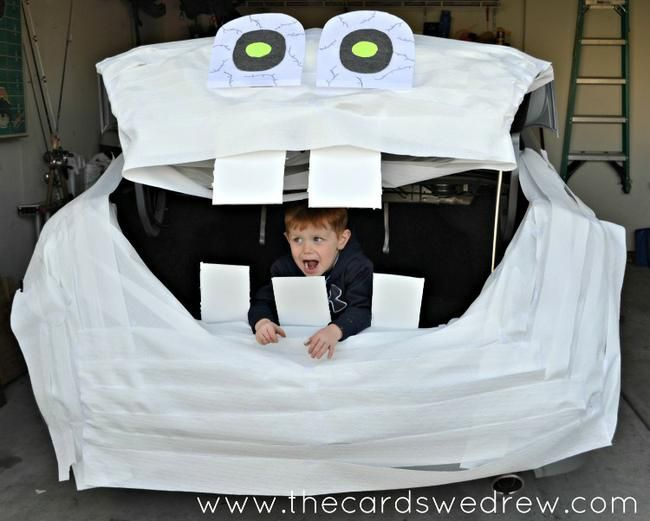 8 Trunk or Treat Ideas featuring FACE Themes