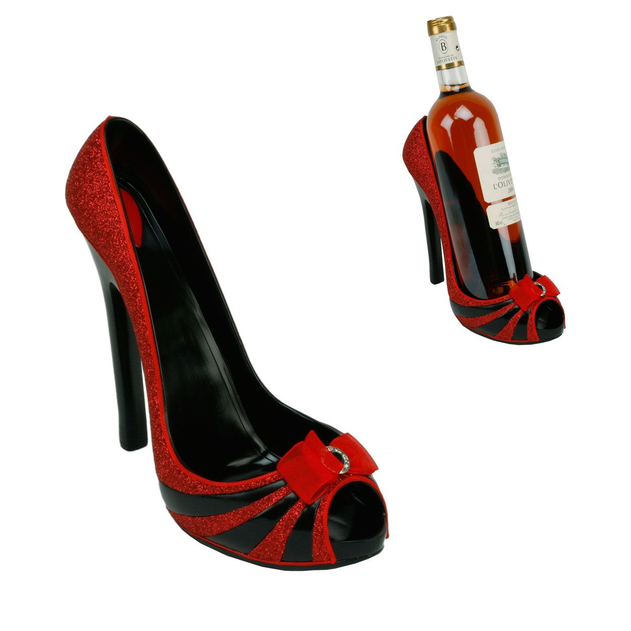 Shoe Wine Bottle Holder Holders Shoes
