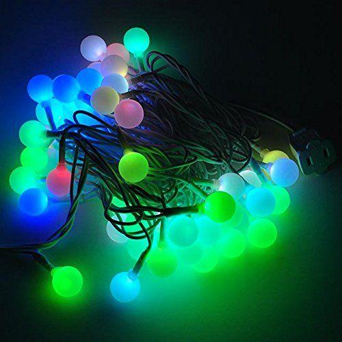 LEDwholesalers LED Color-Changing Linkable 16 Feet Christmas Light