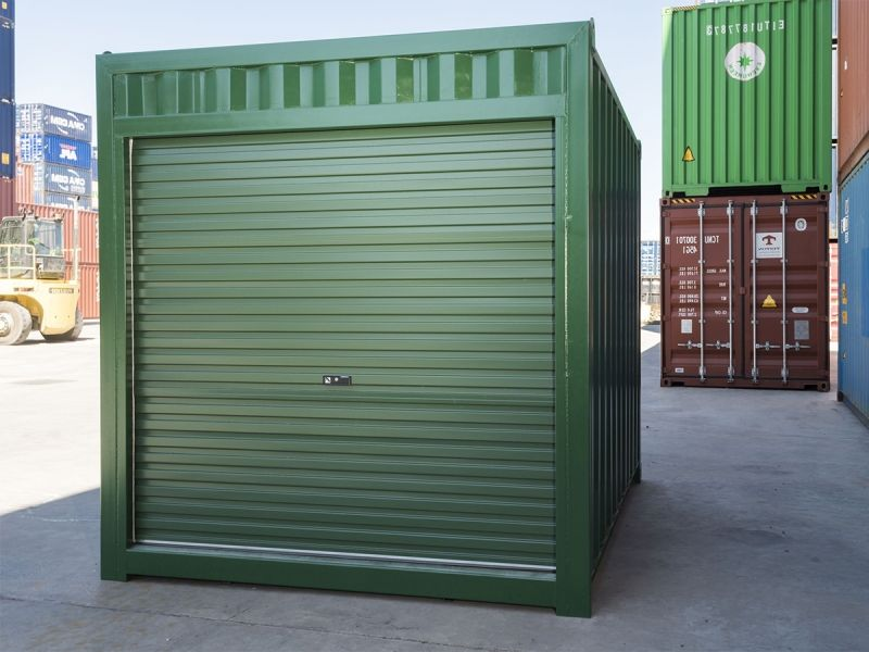 Buy 10ft Shipping Containers In Melbourne Containerspace In 2020 Roller Doors Container House Containers For Sale