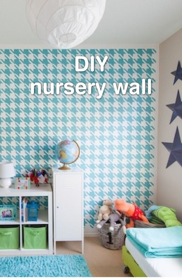 Diy Painted Houndstooth Wall Pinterest Houndstooth Walls And
