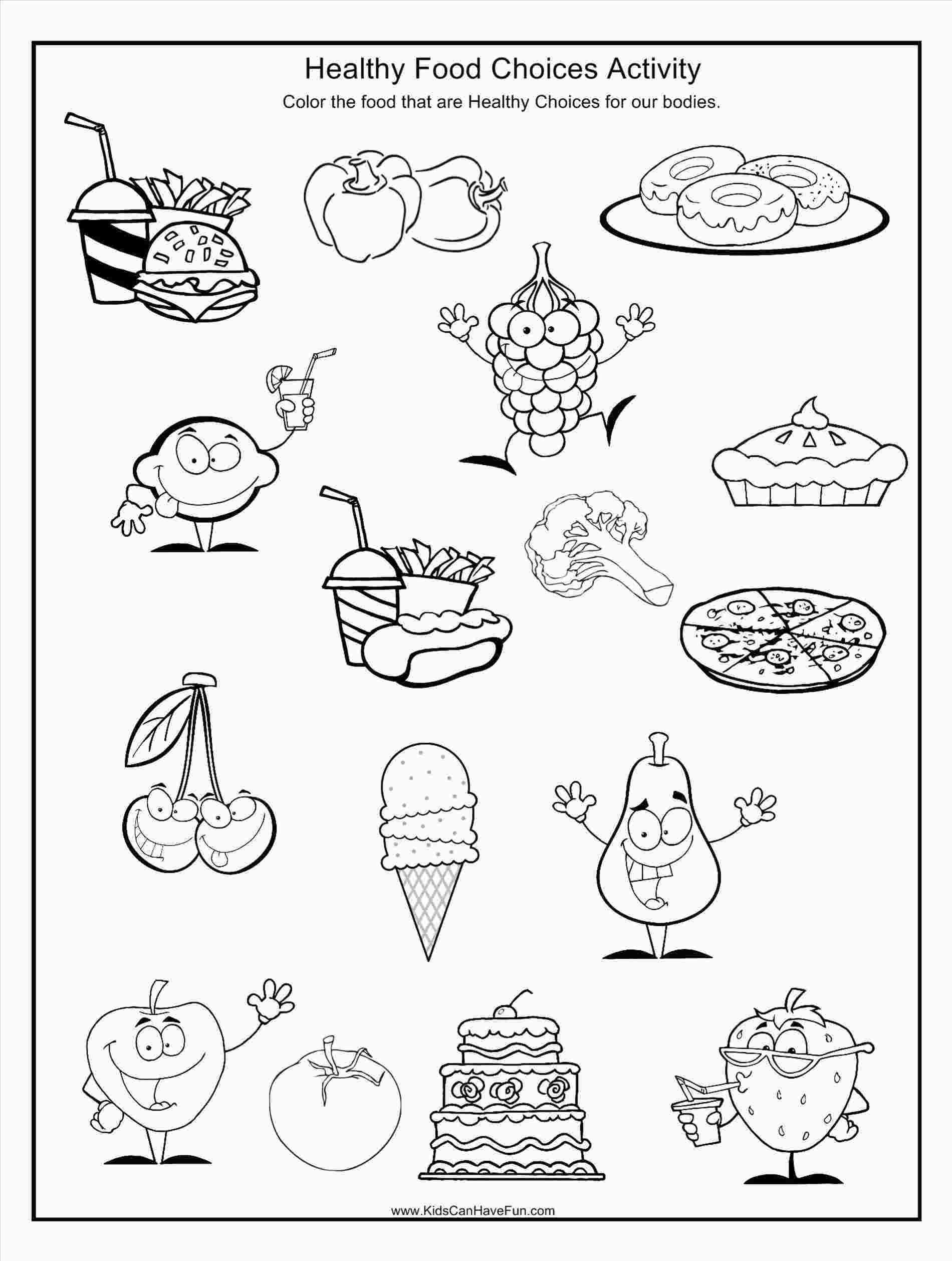 Go Foods Coloring