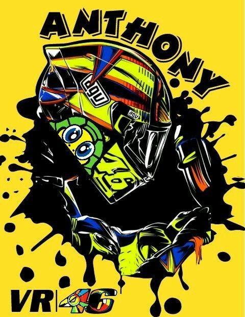 Pin oleh The joker di Valentino Rossi | Kertas dinding ...