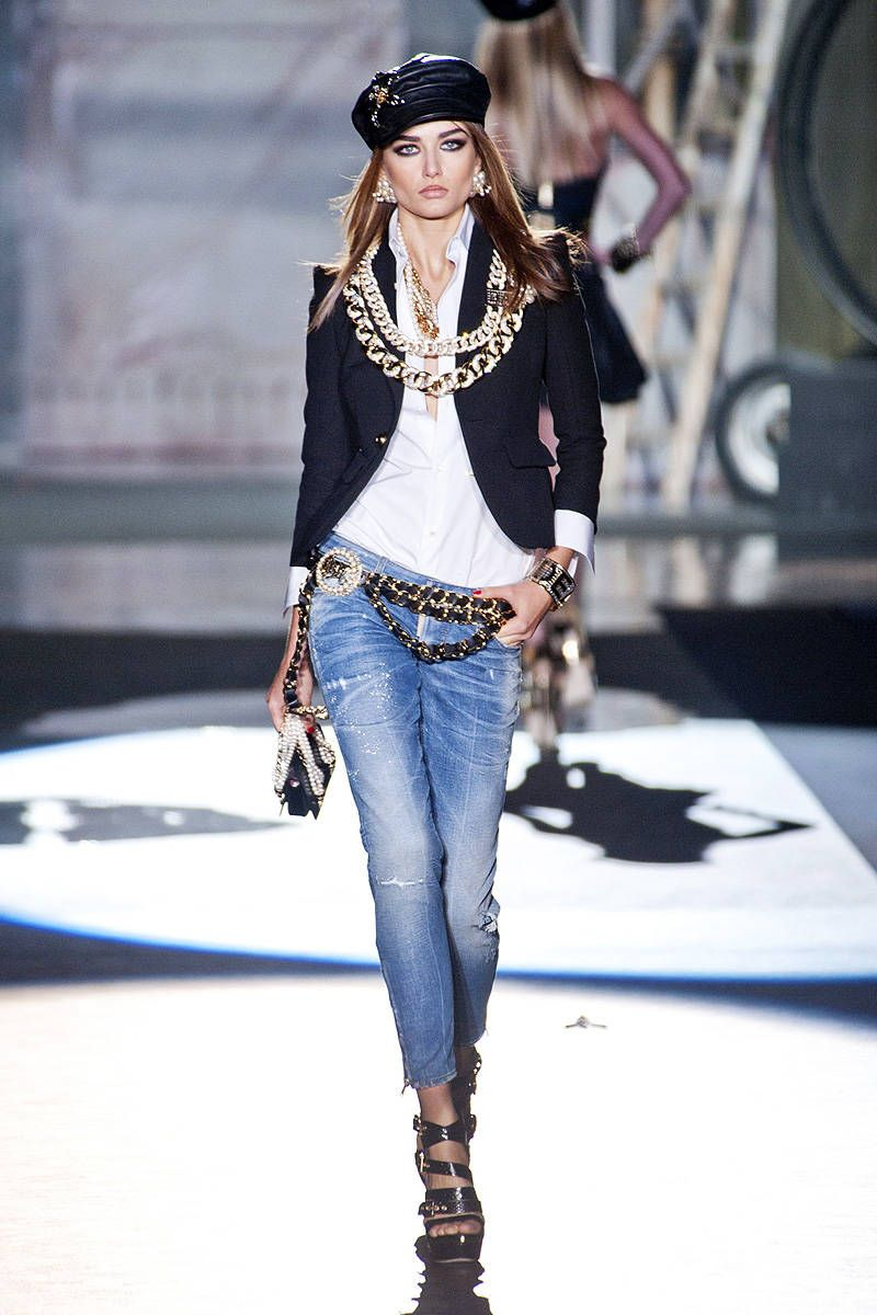 DSquared8 Spring 8013 Ready-to-Wear Collection  Denim fashion