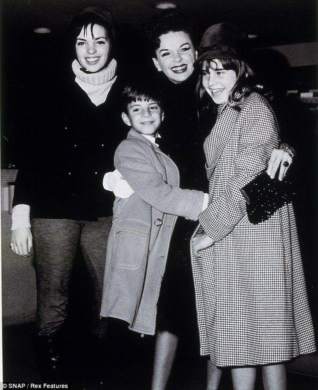 Judy Garland And Her Children, Liza, Lorna & Joey. | The ...