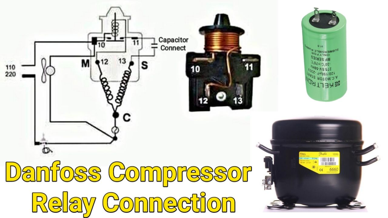 602 602shares Diagram Connection Watch Video Practical 7 699 Total Vi Refrigeration And Air Conditioning Basic Electronic Circuits Basic Electrical Wiring