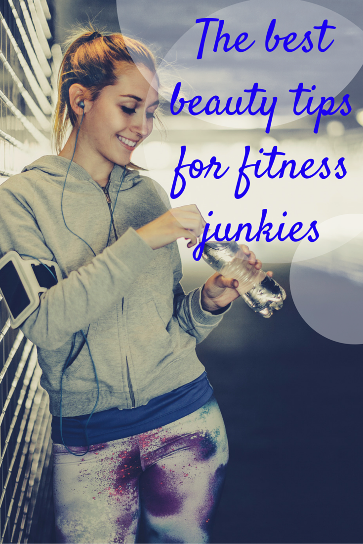 "Did ""eat well"" and ""hit the gym"" make it on your New Year's resolutions list? If so, check out these beauty tips for fitness junkies so you're all set before and after the gym."