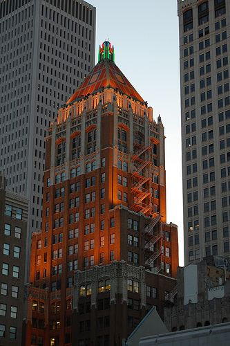 Philtower Building In Downtown Tulsa This Is The Building My
