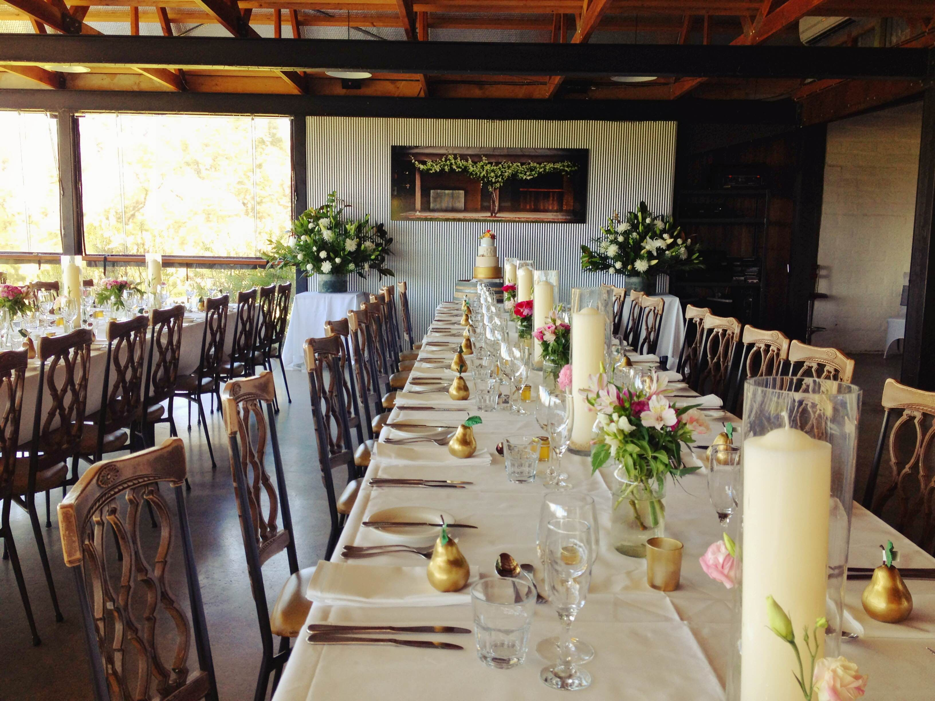 The Function Room At Yarra Ranges Estate Winery Wedding Valley Dandenong