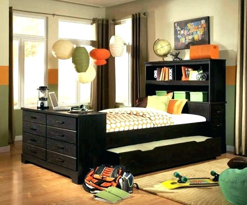 Full Size Bed With Trundle And Storage Full Size Trundle Bed