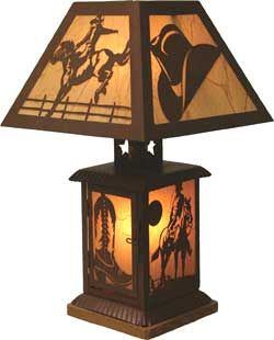 Delightful Western Home Decor | Western Peddler   Western And Horse Lamps