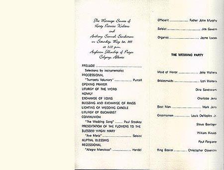 Wedding Programs cakepins Wedding Pinterest Wedding - invitation wording for christmas dinner party