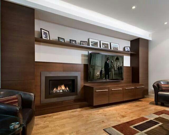 Tv room TVs Pinterest Room, Tv walls and Tv fireplace