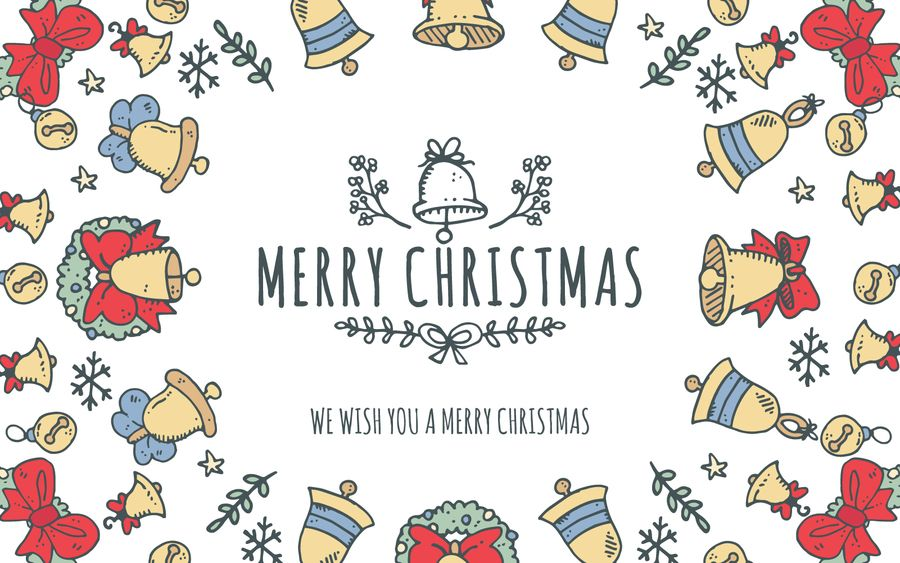 Christmas card creator including different alternatives for the elements on frame and for the greeting message. You can also customize your own message, easily and online!