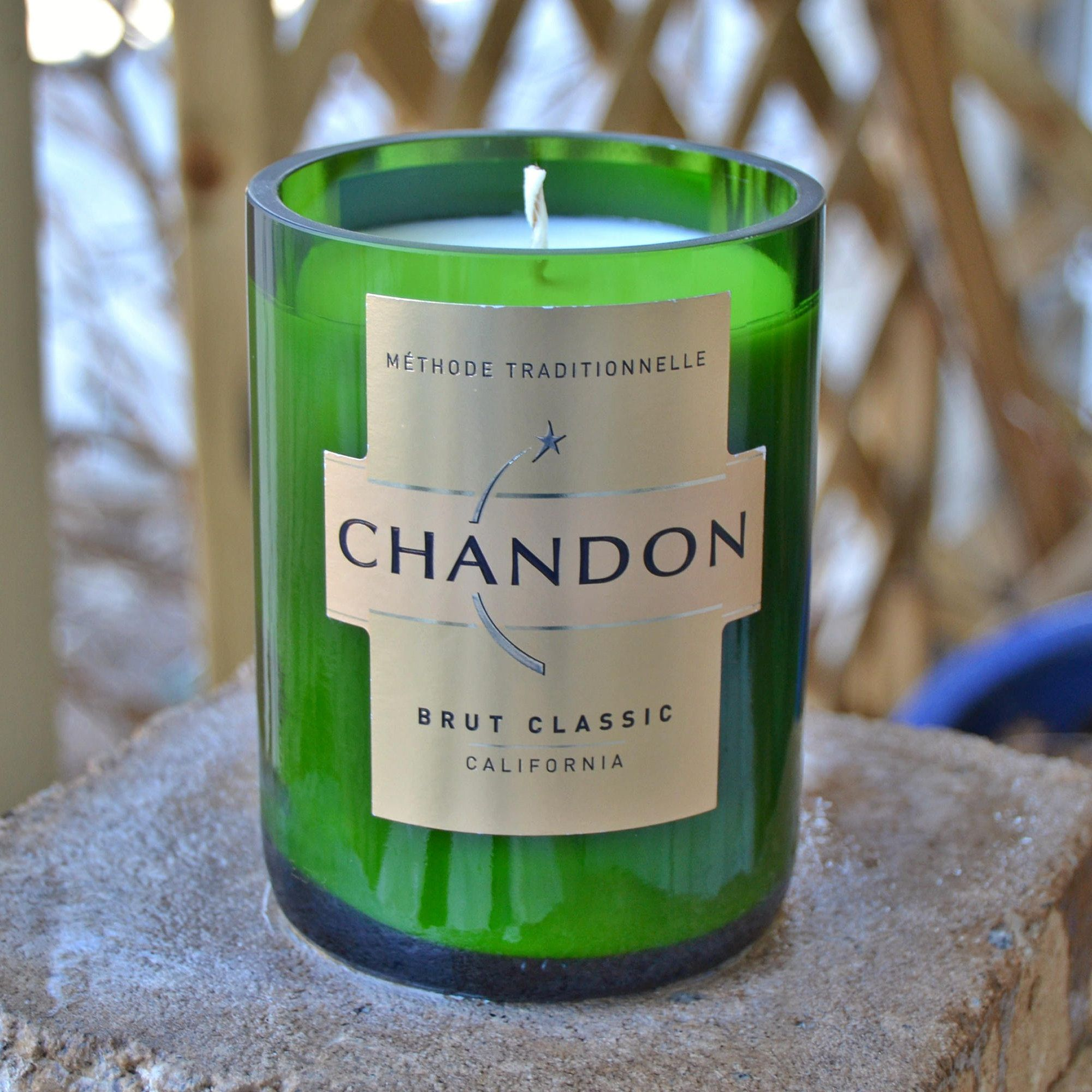 Chandon Champagne Bottle Candle Made With Soy Wax