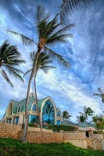 Ko Olina Chapel Kapolei Hawaii Hawaii Pinterest