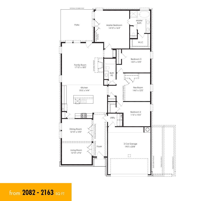 floor plan   New homes austin, Austin homes, New home builders