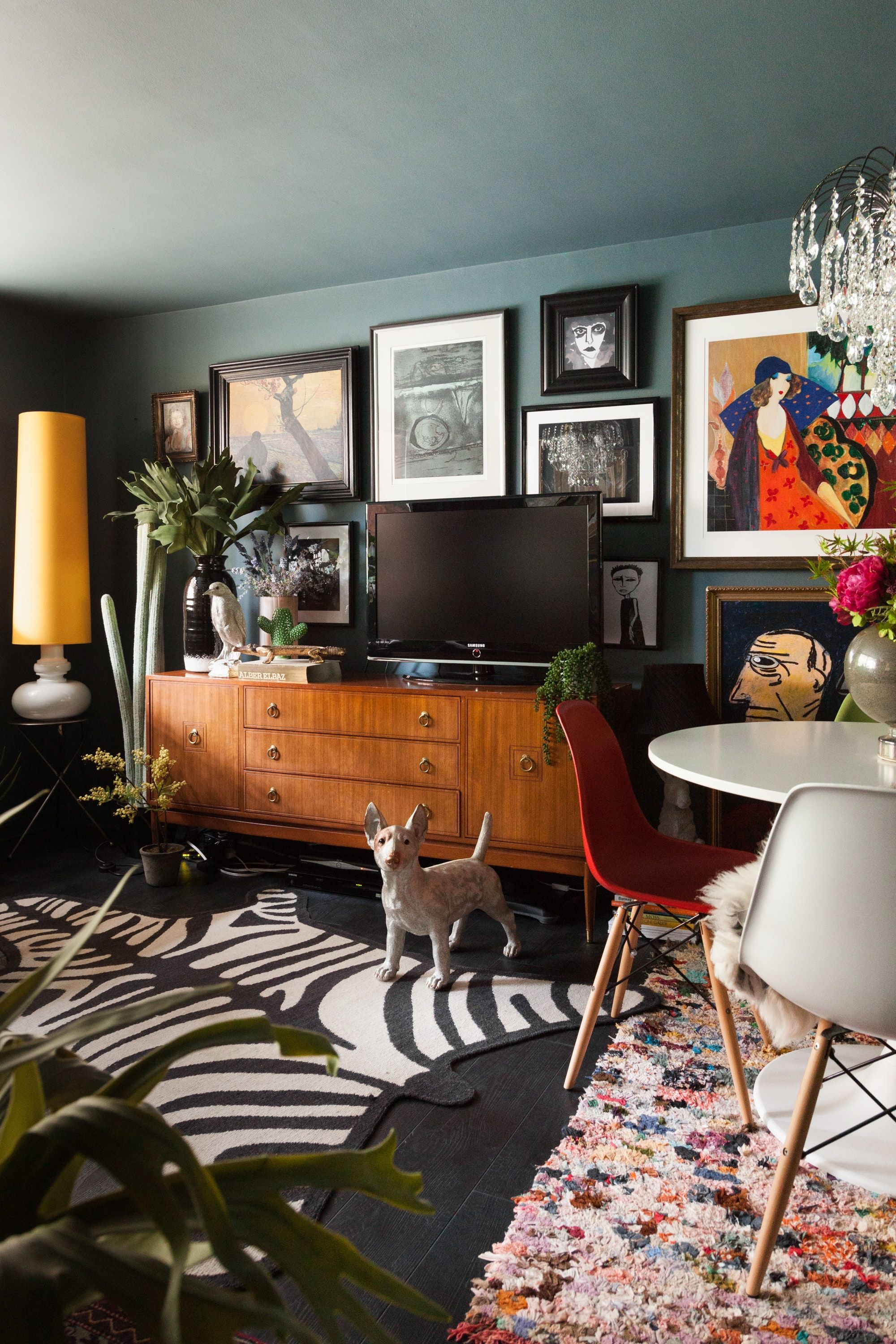 A Dramatic Maximalist London Flat Is Dark Eclectic And Cool Maximalist Decor Eclectic Home Home Decor